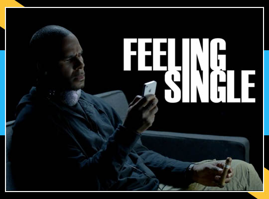 Event Snaps: MUSIC VIDEO: R. KELLY - FEELIN SINGLE