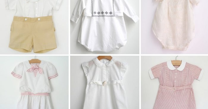 Rebecca Tollefsen Blog Adorable Vintage Baby Clothes