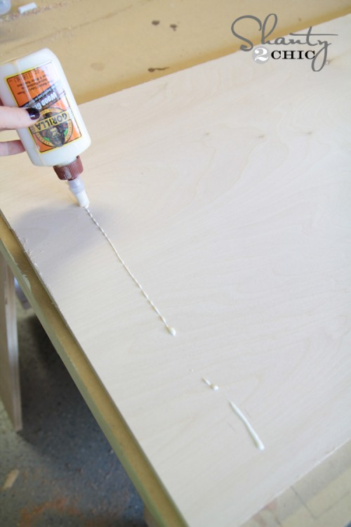 Click To Buy Glue DIY Desk Nightstand