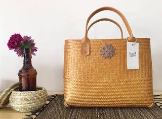 tas dari bambu
