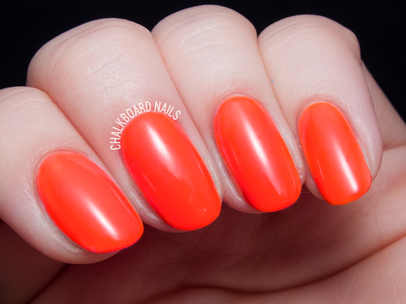 China Glaze Red-y to Rave via @chalkboardnails