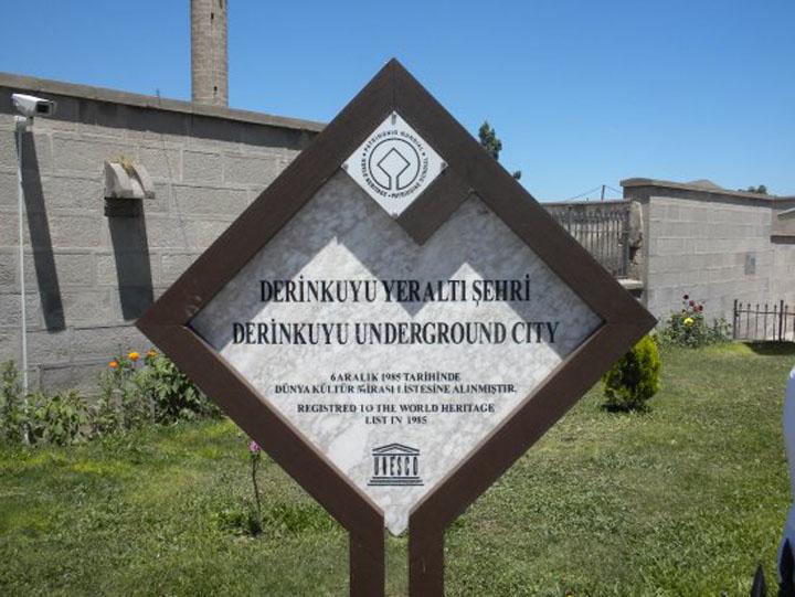 Bandar Bawah Tanah Derinkuyu Tempat Menarik di Turki