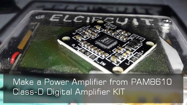 PAM8610 Module Power Amplifier Class D 2x15Watt