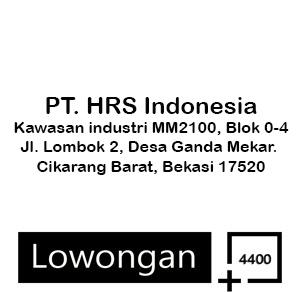 Lowongan Pekerjaan PT HRS Indonesia