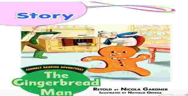 قصة رجل خبز الزنجبيل The gingerbread man لغة انجليزية للصف الثانى الابتدائى 2021