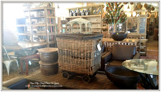 Vintage Basket-Round Top Texas-From My Front Porch To Yours