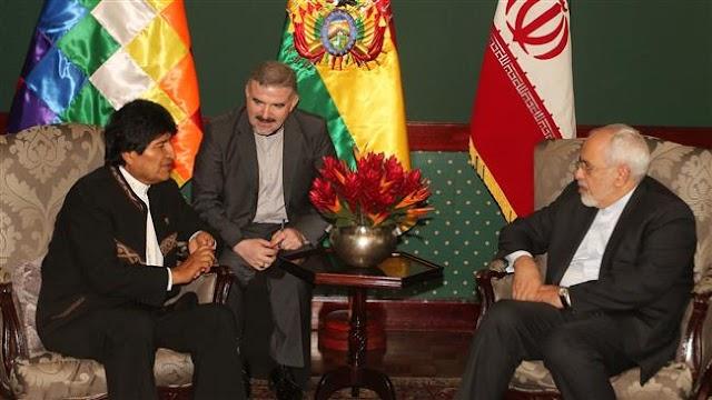Iran FM Mohammad Javad Zarif, Bolivia president Evo Morales discuss issues of common interest