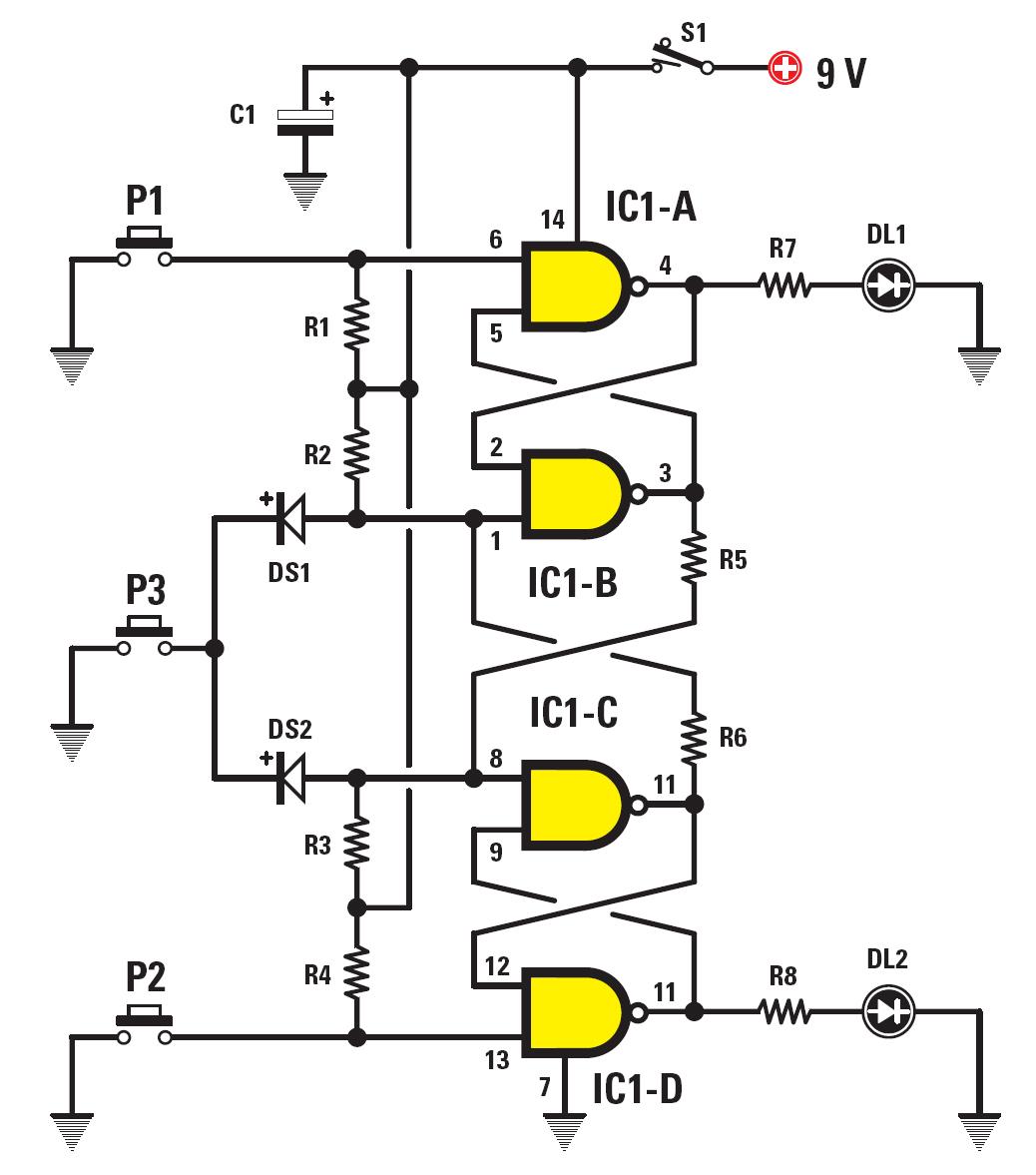 Un Jeu Du Plus Rapide Schema Electronique Net