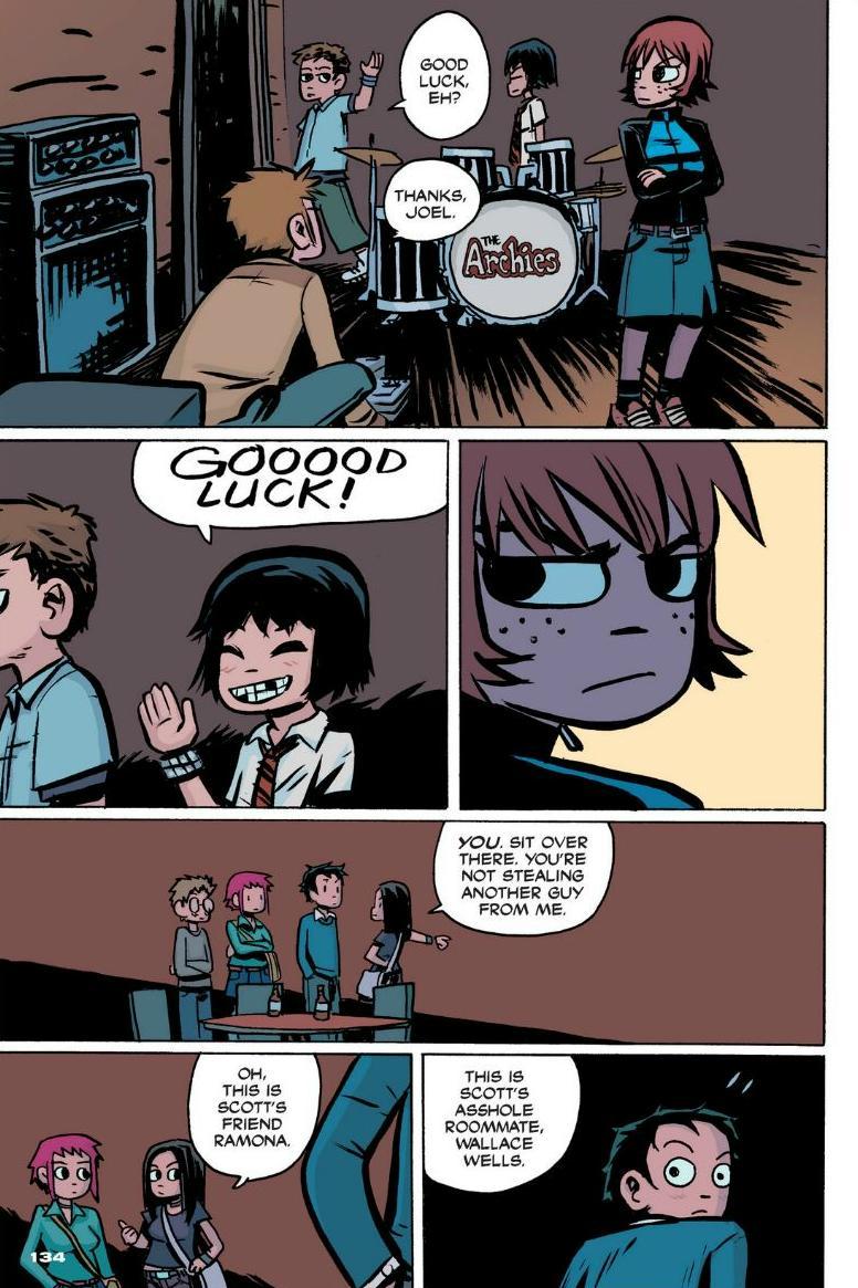 Read online Scott Pilgrim comic -  Issue #1 - 122