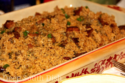 Deep south dish pork and andouille sausage jambalaya pork and andouille sausage jambalaya forumfinder Choice Image