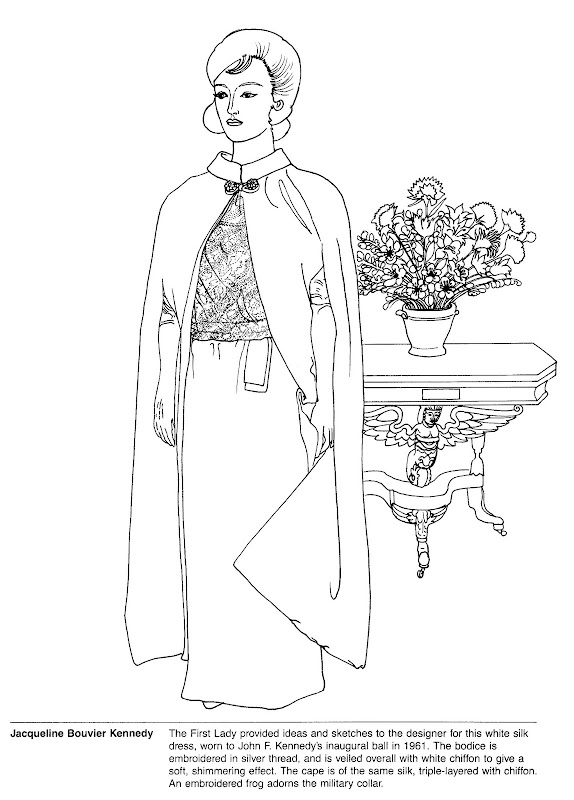 anauguration coloring pages - photo#22