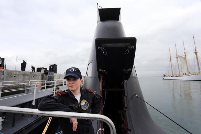 Noémie Freire: La primera mujer en el curso de submarinos  de la Armada portuguesa