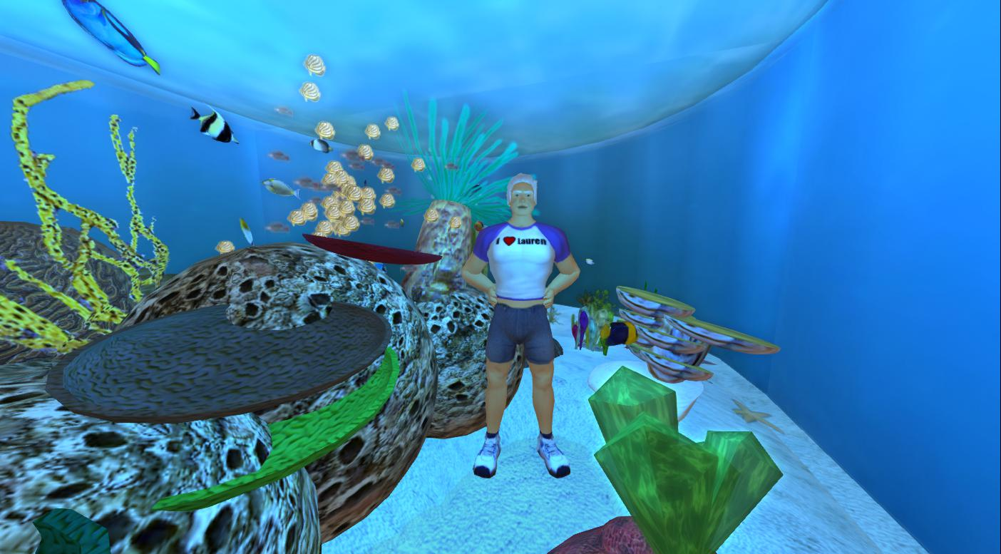 Virtual Aquarium   Virtual Outworlding 2013 Edu The Virtual Aquarium