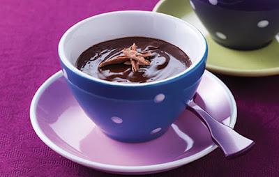 أكواب شوكولاتة بالكراميل