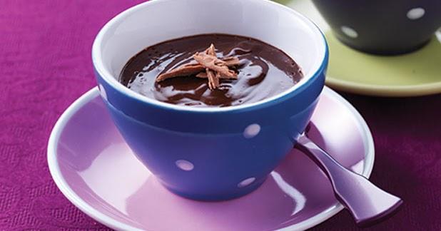 طريقة عمل أكواب شوكولاتة بالكراميل بالصور