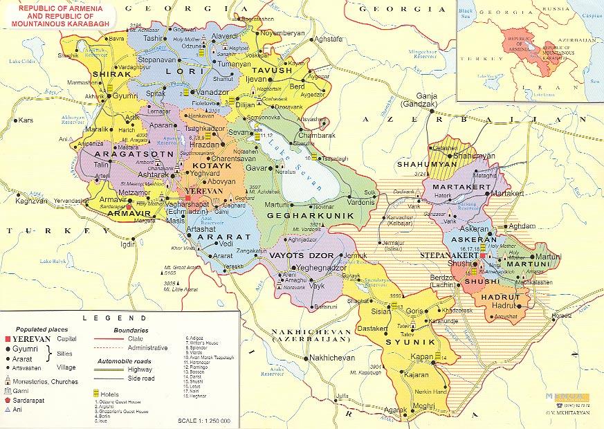 #Harta e Armenisë