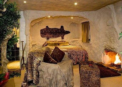 dinosaur themed bedrooms - jungle style