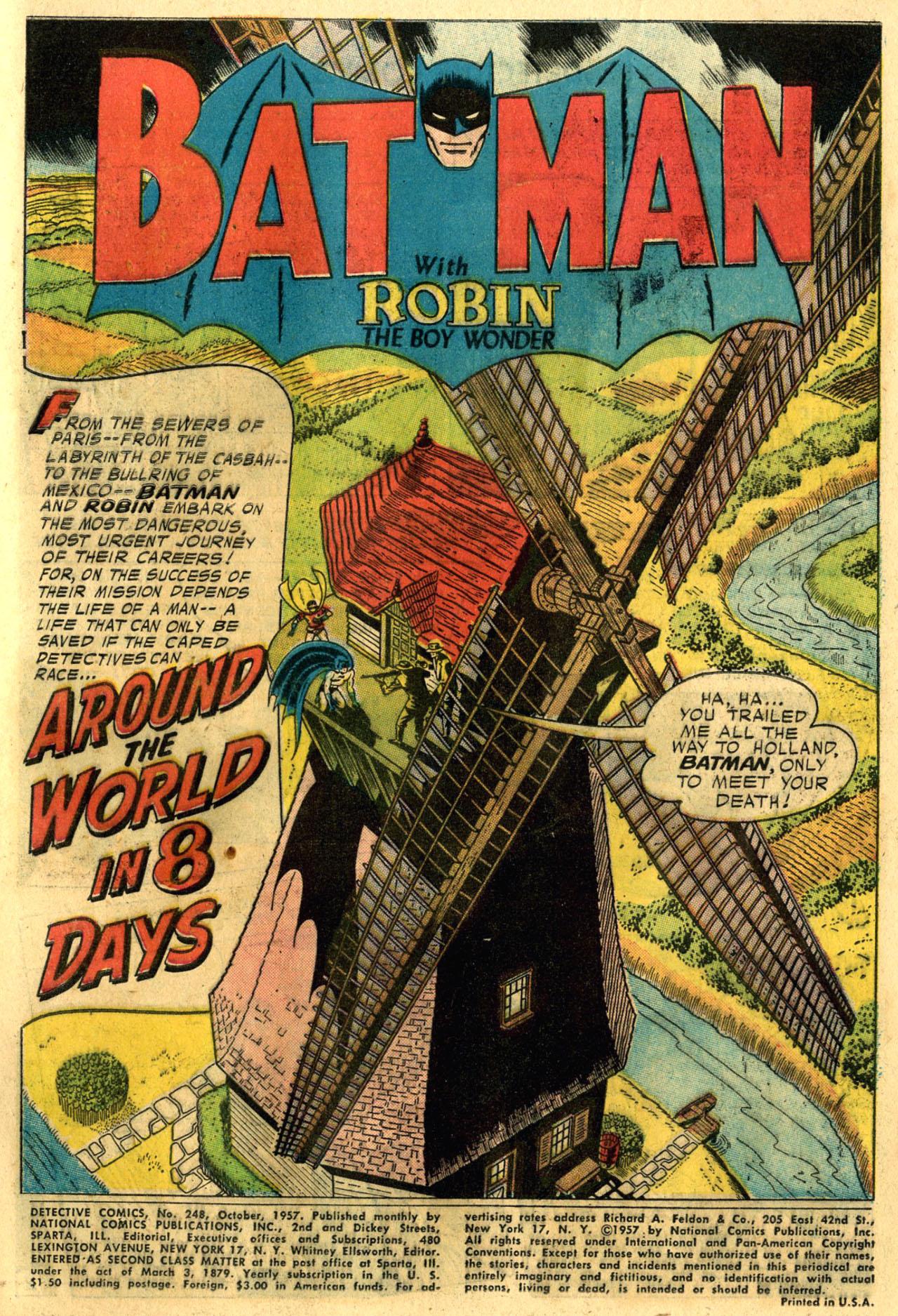 Read online Detective Comics (1937) comic -  Issue #248 - 3