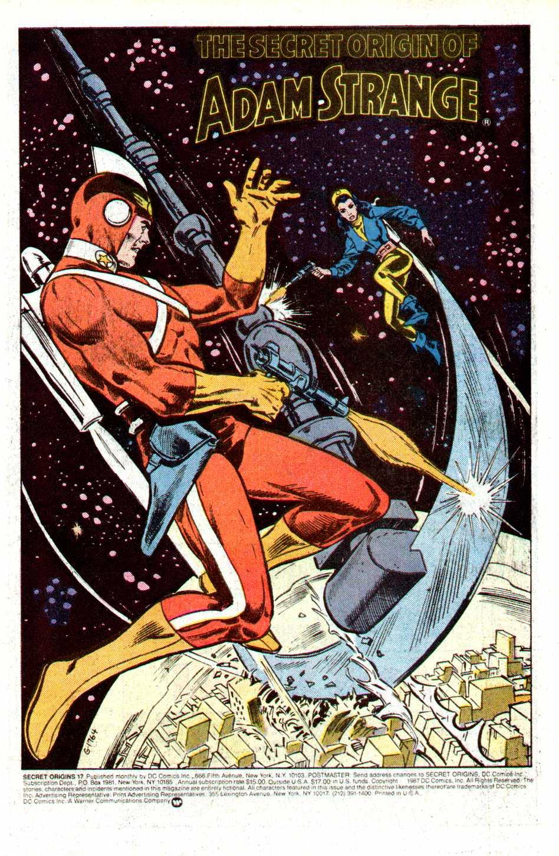 Read online Secret Origins (1986) comic -  Issue #17 - 2