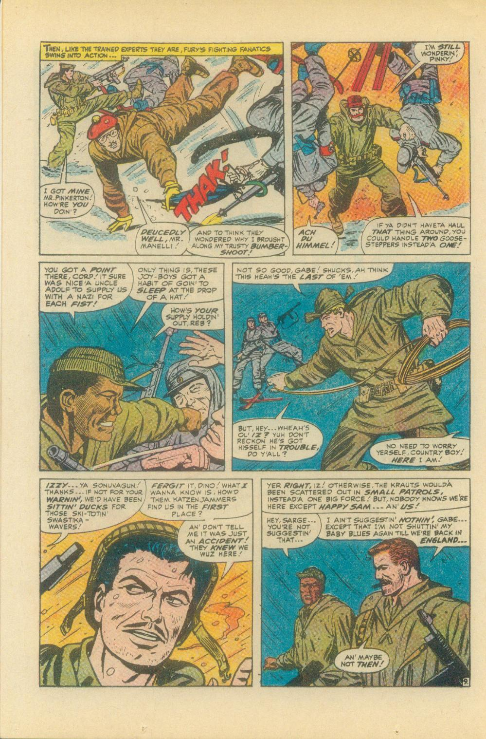 Read online Sgt. Fury comic -  Issue #93 - 14