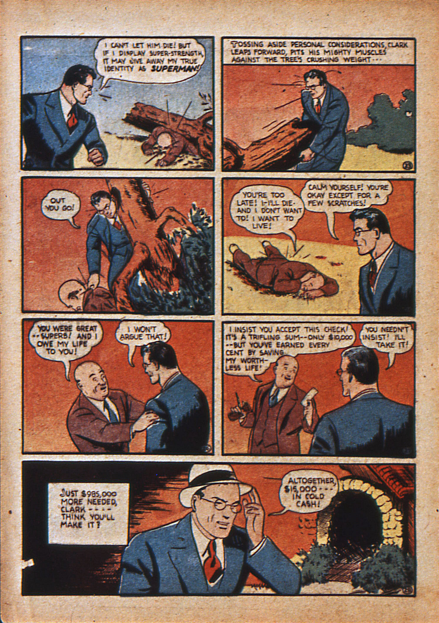 Read online Action Comics (1938) comic -  Issue #15 - 7