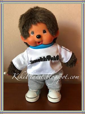jogging pantalon survêtement handmade fait main kiki monchhichi poupée vêtement