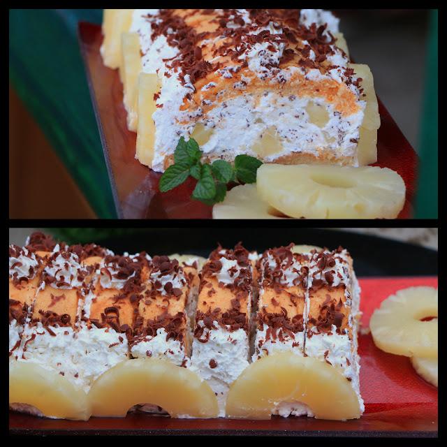 Kolač-sa-ananasom-piškotama
