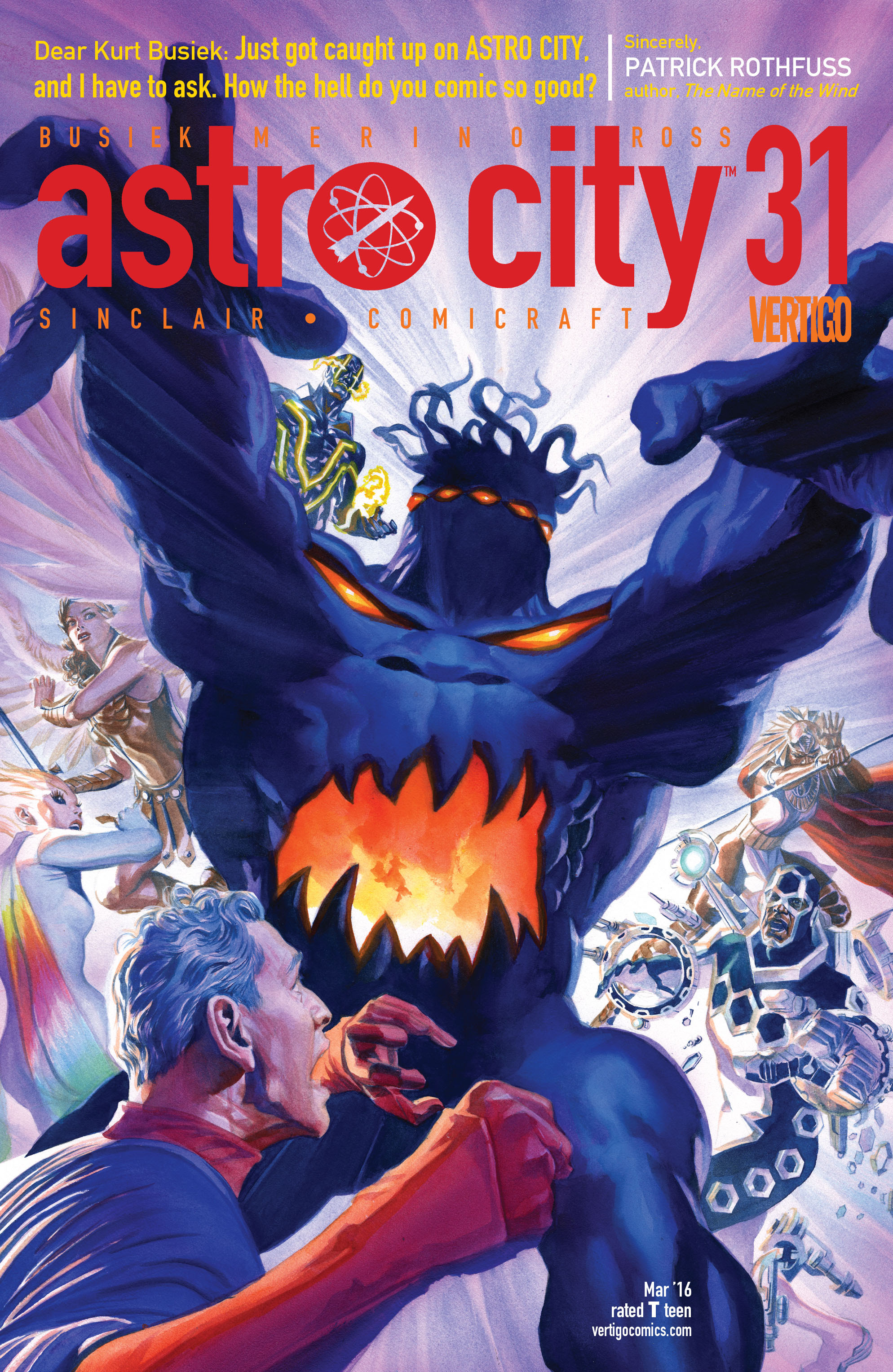 Read online Astro City comic -  Issue #31 - 1