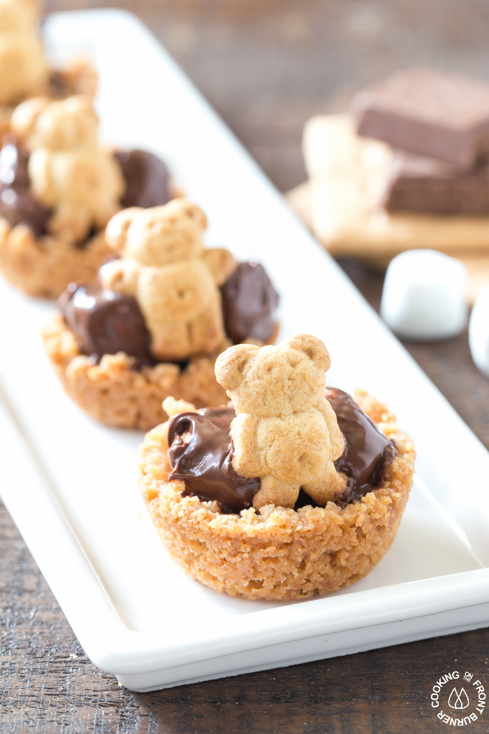 Mini S'mores Bites that kids will love!