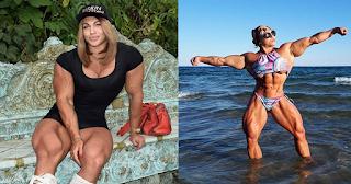 Ρωσίδα μποντιμπίλντερ που σηκώνει βάρη από τα 14 δείχνει το εκπληκτικά γυμνασμένο σώμα της