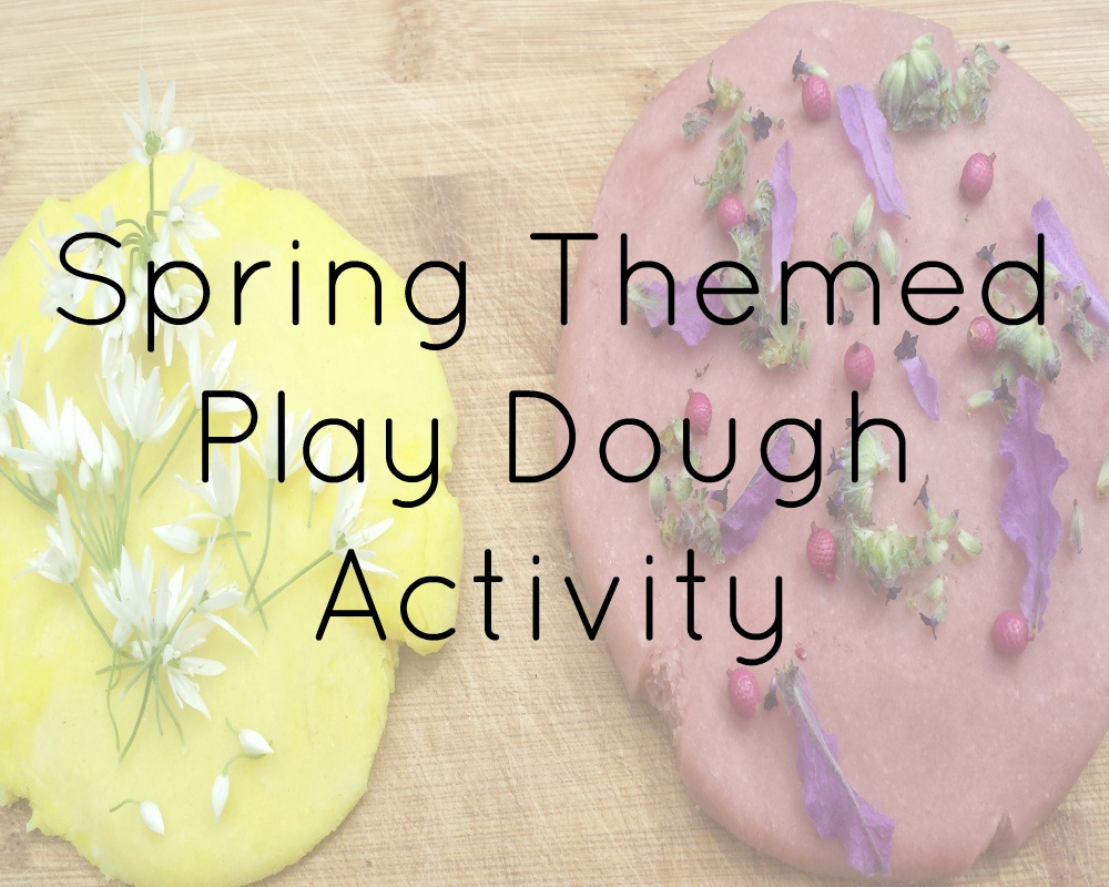 Spring Themed Play Dough