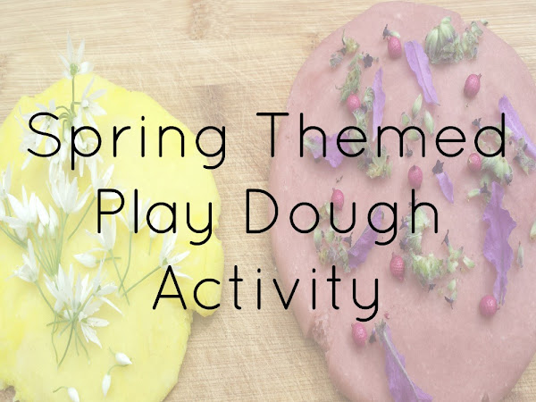 Spring Themed Play Dough