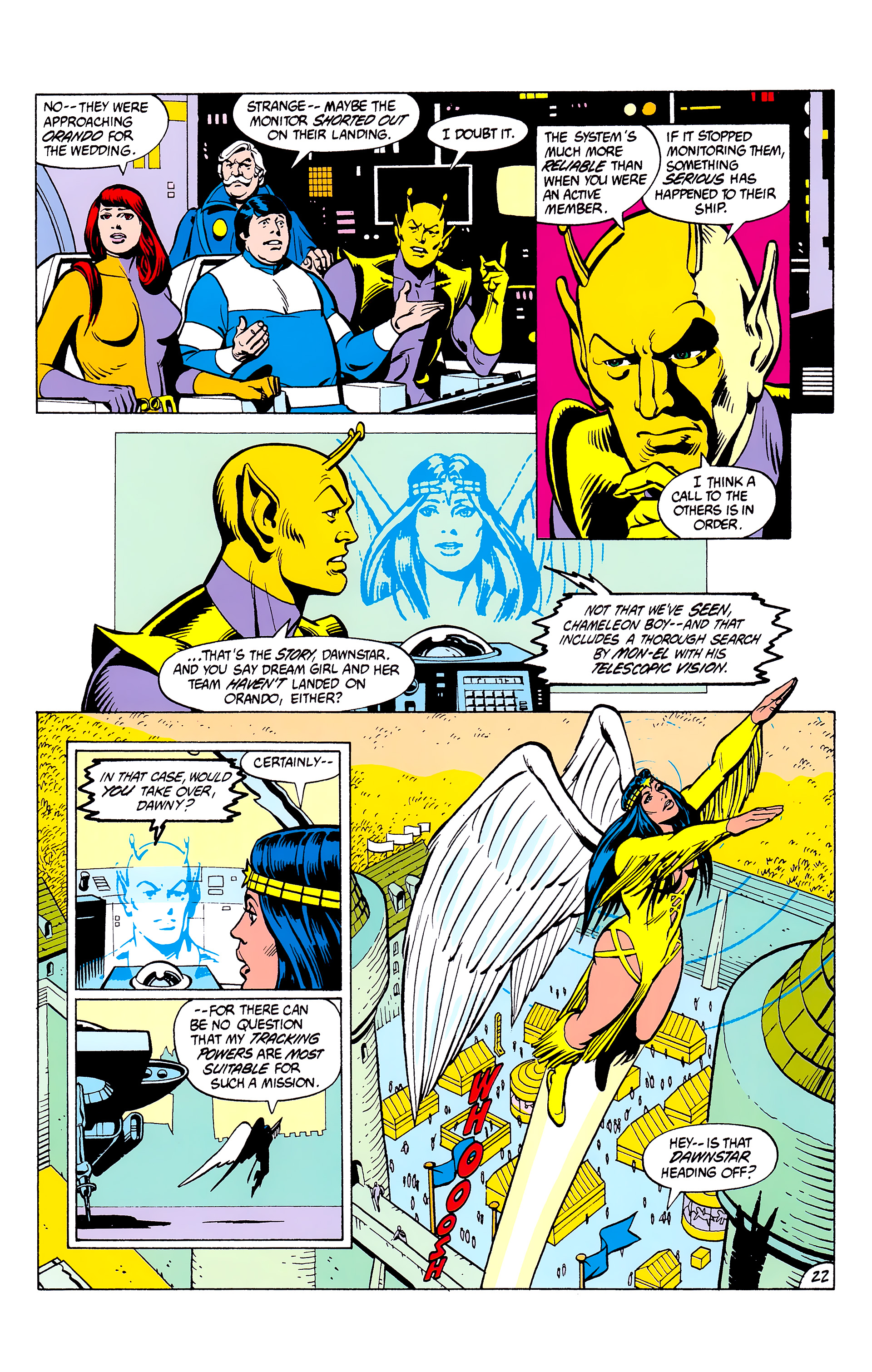 Legion of Super-Heroes (1980) _Annual_2 Page 22