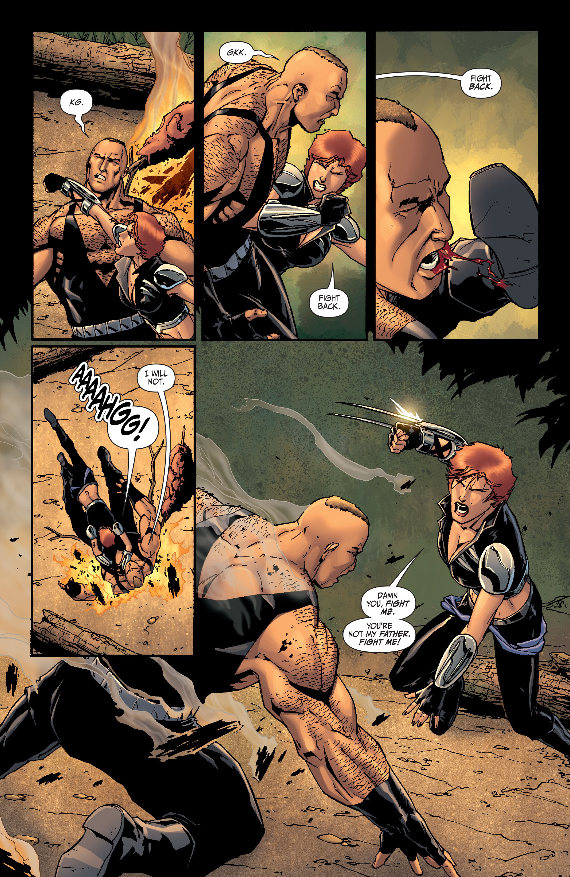 Read online Secret Six (2008) comic -  Issue #26 - 21