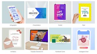 مراجعة DesignCap لانشاء Infographics وتصاميم احترافية