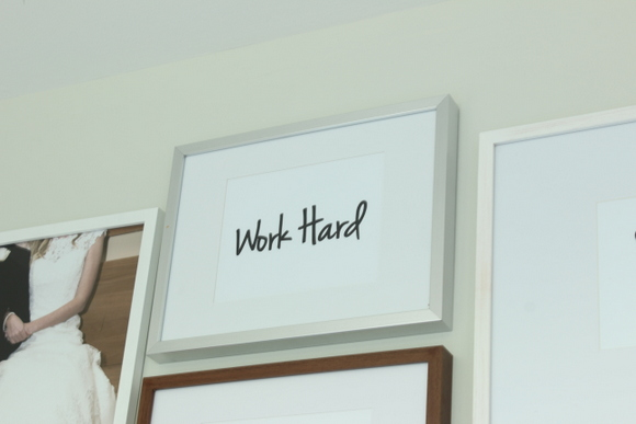 Work Hard - Office Gallery Wall Printable