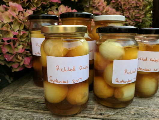 Pickled onions