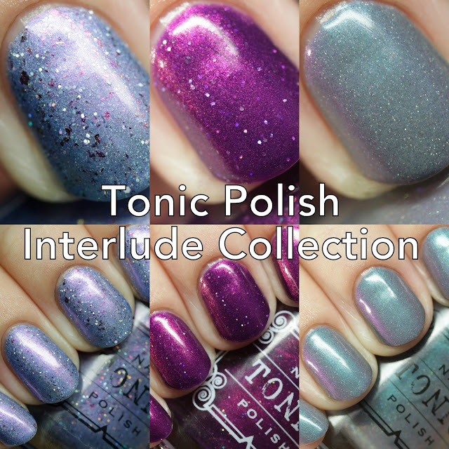 The Polished Hippy: Tonic Nail Polish Interlude Collection Swatches ...