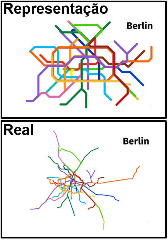 Mapas de Metros do mundo - Berlin