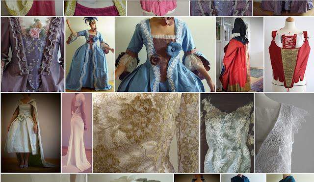 Fée au Château création de costumes historiques sur mesure à Versailles