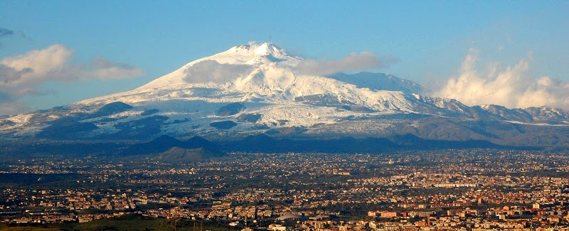 Etna, Catania, Sicily, Italy - Top 10 Stunning Volcanoes Around the World