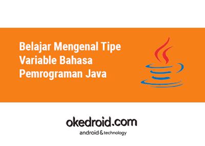 contoh jenis jenis macam macam tipe Tipe Variable di Bahasa Pemrograman Java