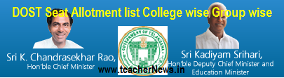 TS Degree Seat Allotment