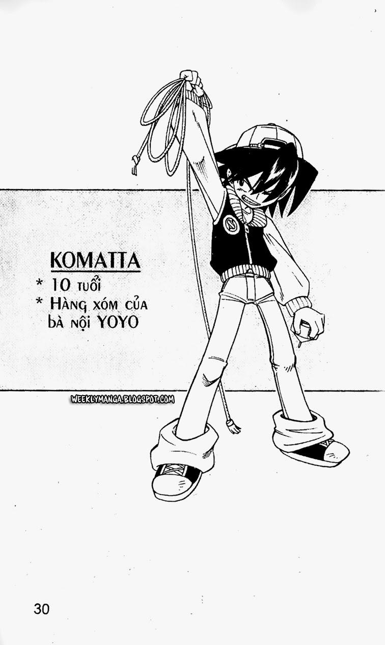Shaman King [Vua pháp thuật] chap 167 trang 9