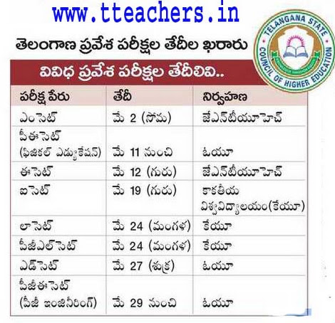 TS Eamcet 2016 Web Options Dates Telangana|AP,TS/Telangana  Deecet Web Counselling,Web Options,SSC,Inter Exam Time Table 2016