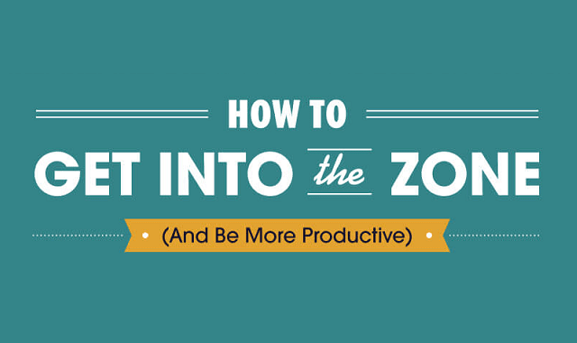 How To Get In The Zone (And Be More Productive)