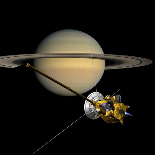 Tutorial Penelitian Wahana Cassini Bersiap Terjun ke Atmosfer Saturnus September 2017