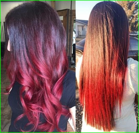 Beliebte rote Haarfarben und Frisuren