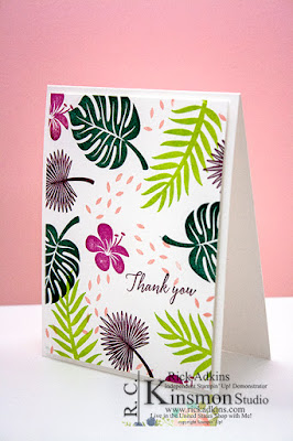 Tropical Chic Stamp Set, 2017-2019 In Colors, Stampin' Up!, Rick Adkins