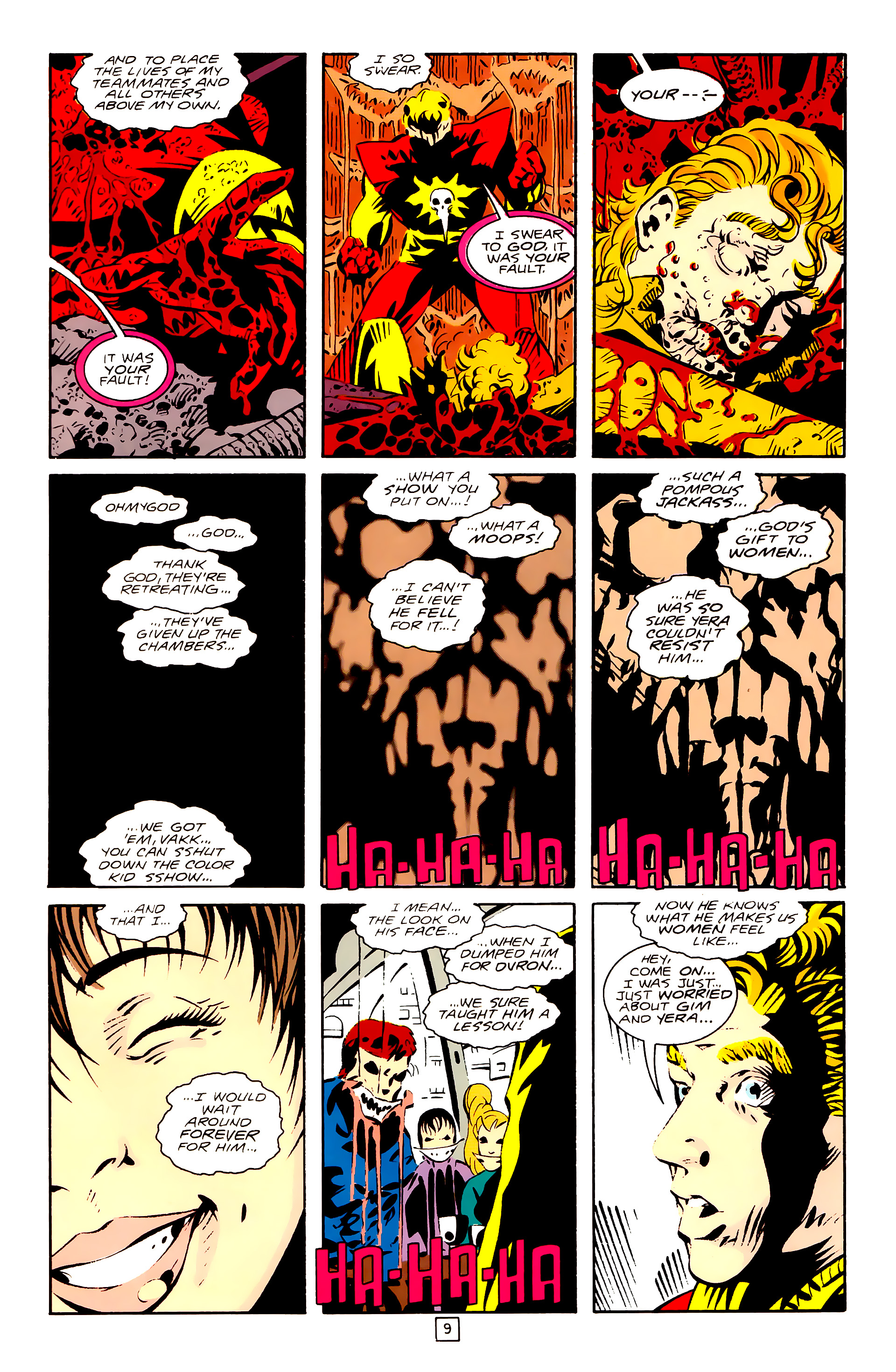Legion of Super-Heroes (1989) 28 Page 9